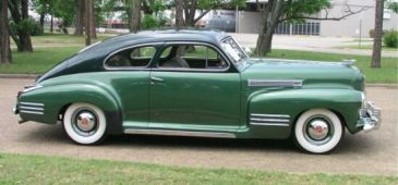 1941 Cadillac 61 Coupe