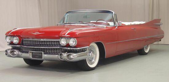 1959 Cadillac 62 Convertible