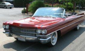 1963 Cadillac 62 Convertible