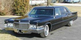 1970 Cadillac Fleetwood limousine