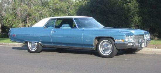 1971 Cadillac Coupe De Ville