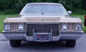 1972 Cadillac Sedan De Ville