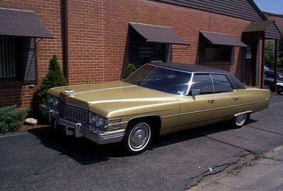 1974 Cadillac Calais