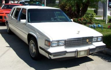 1985 Cadillac Fleetwood Limousine