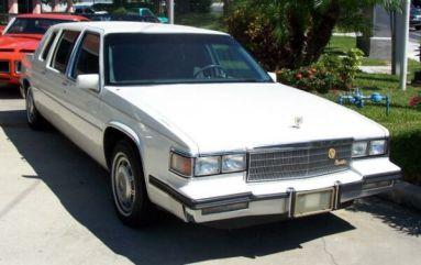 1985 Cadillac Fleetwood Limousine