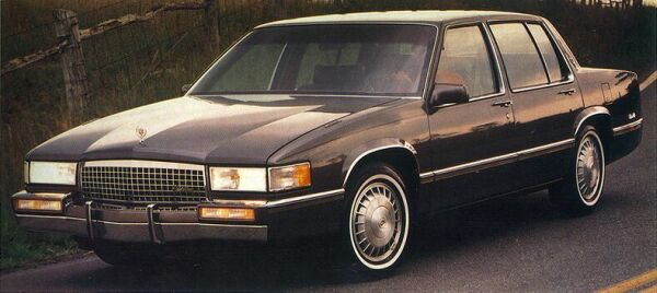 1989 Cadillac Sedan De Ville