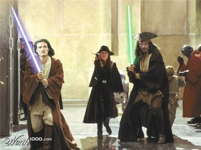 Pirates of the Carribean Phantom Menace