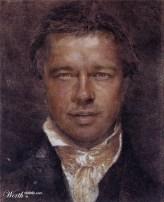 Pitt Portrait (Бред Питт)
