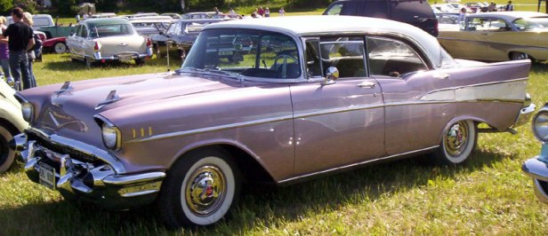 1957 Chevrolet Bel Air hardtop sedan