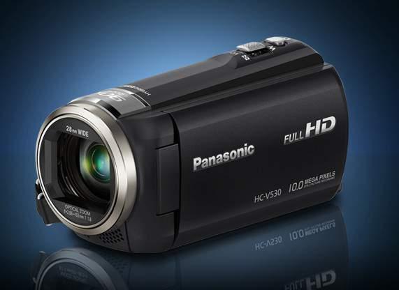 Panasonic HC-V530 - мечта идиота!