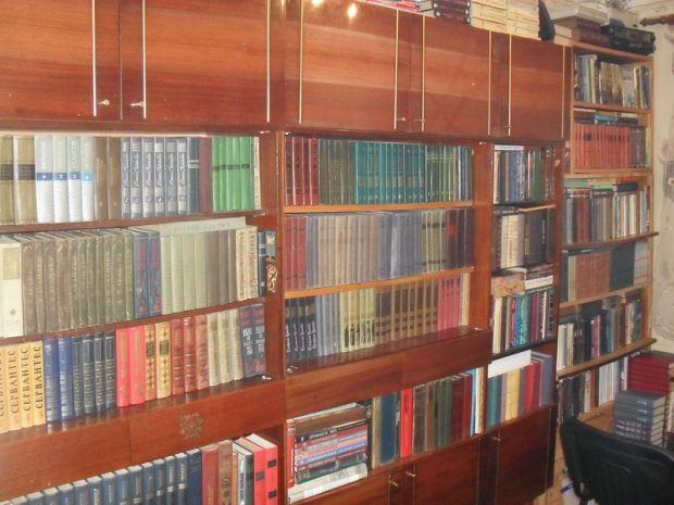 Моя библиотека (только ее часть)