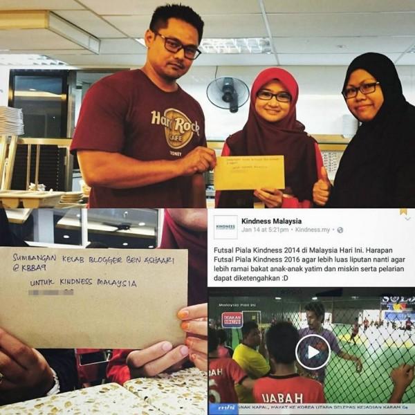 sumbangan kbba9 piala kindness malaysia