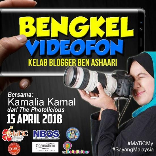 Bengkel Videofon Bersama Kak Kay, Input Terbaik Untuk Blogger KBBA9