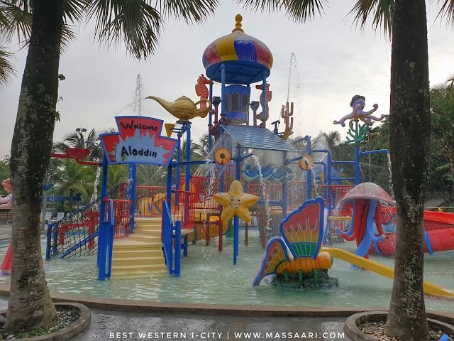 Promosi Cuti Sekolah 'Stay And Splash' Best Western I-City Shah Alam