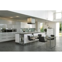 Firbeck Supergloss White Kitchen Doors & drawer Fronts at ...