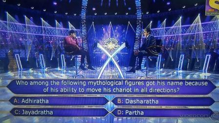 Ques : Who among the following mythological figures got his name because of his ability to move his chariot in all directions?