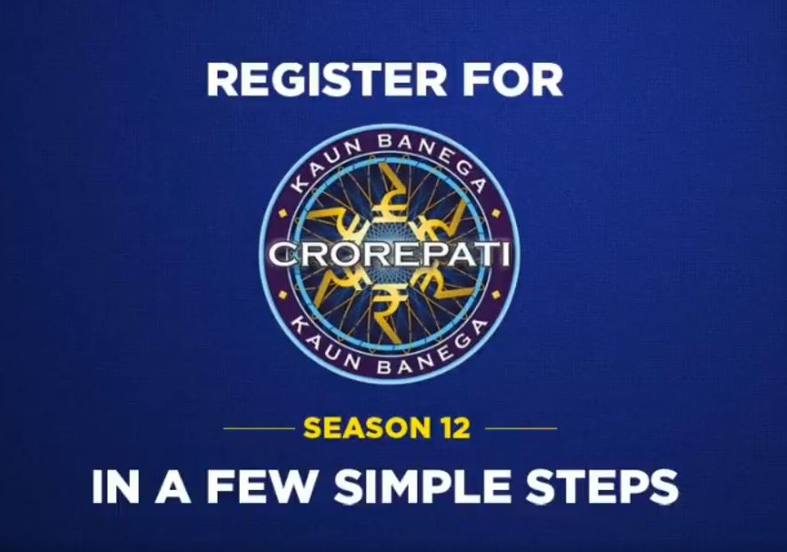 Register for KBC Season 12 in few simple steps