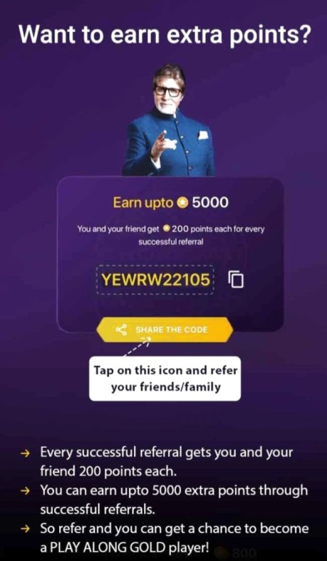 Want to Earn Extra Points in KBC Play Along