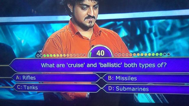 Ques : What are 'cruise' and 'ballistic' both types of?