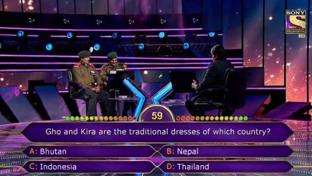 Ques : Gho and Kira are the traditional dresses of which country?