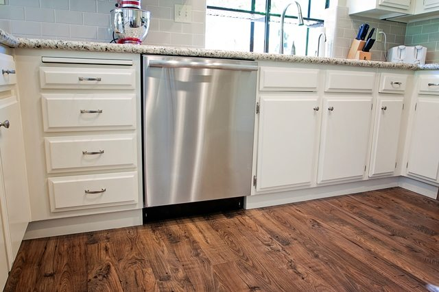 Beautiful refinished cabinets.