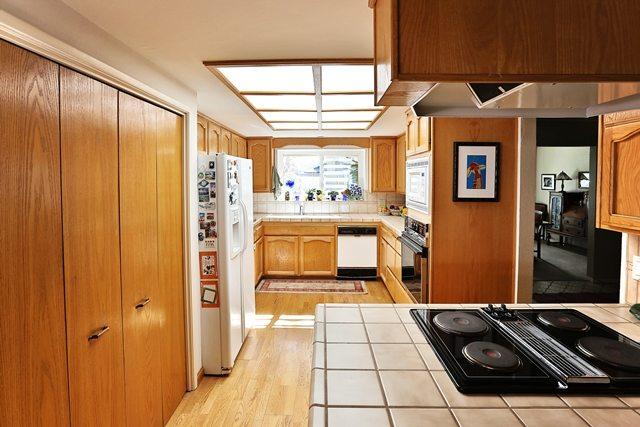 Before kitchen renovation.