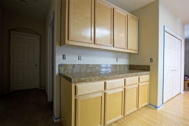 Kitchen remodel prep.