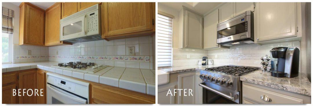 Modern kitchen renovation!
