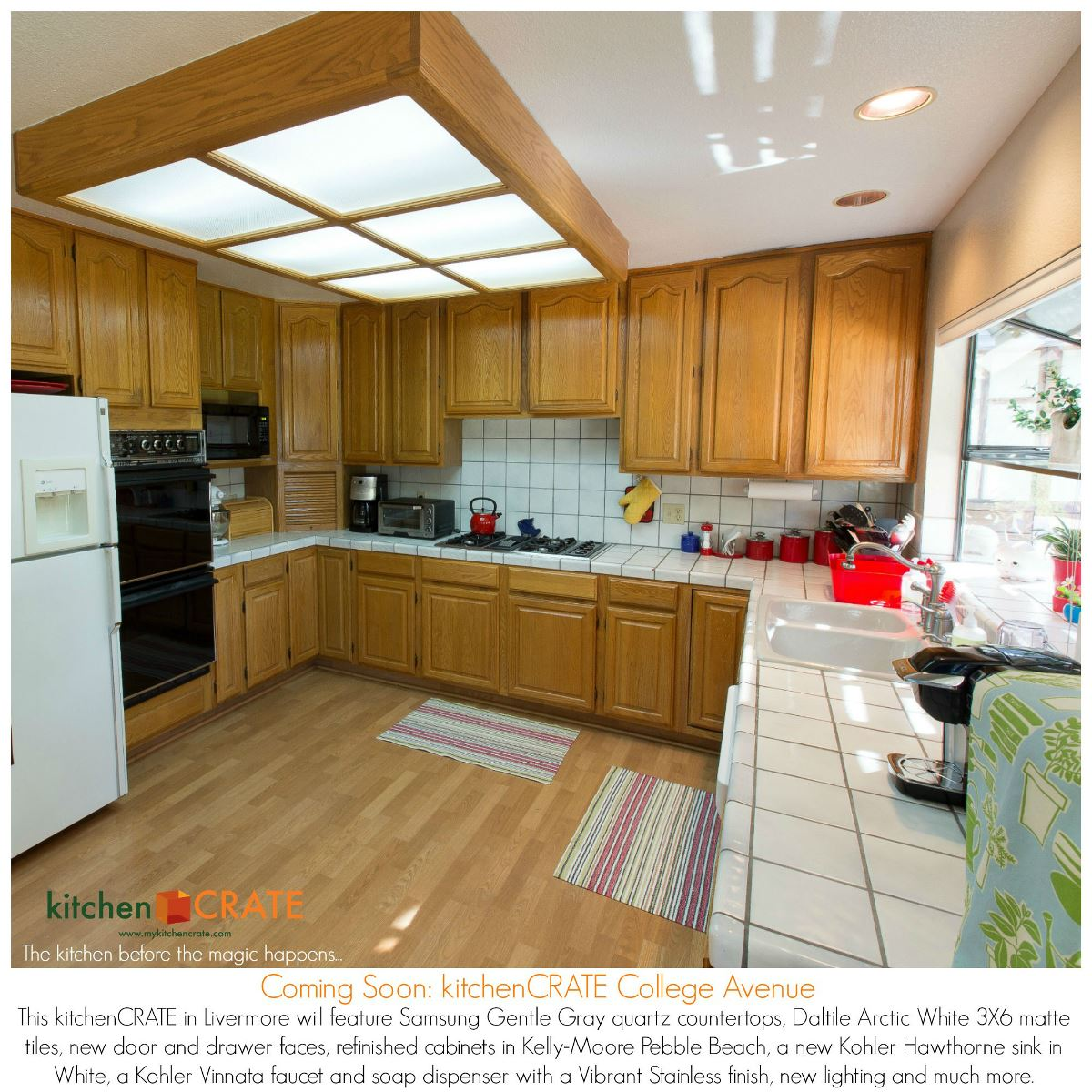 Kitchen Remodel Livermore College Avenue Begins - Daltile livermore