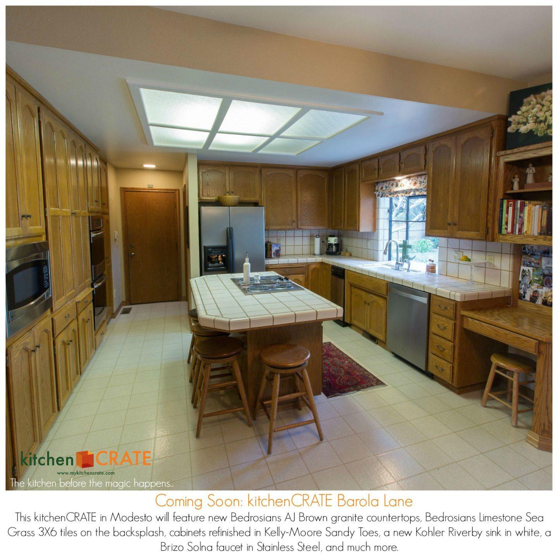 Kitchen And Bathroom Remodels Begins KitchenCRATE Barola Lane In - Bathroom remodel modesto ca