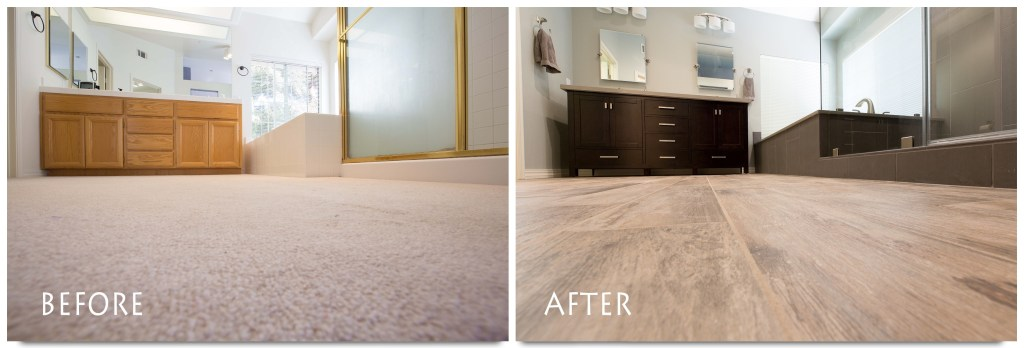 Before & After Windermere Circle Remodel.