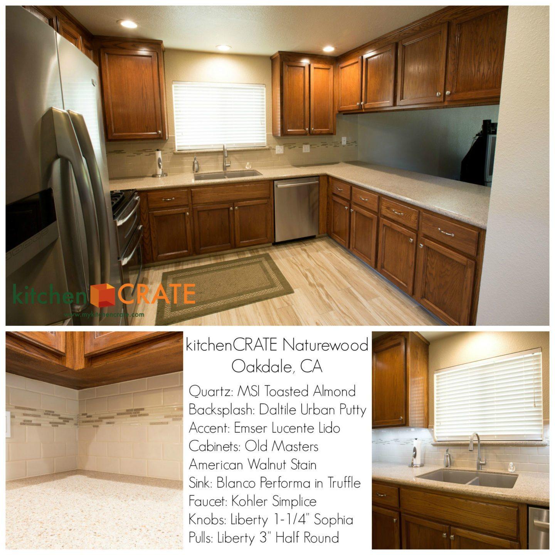 Kitchen Remodel Oakdale Naturewood Drive Complete - Daltile oakdale