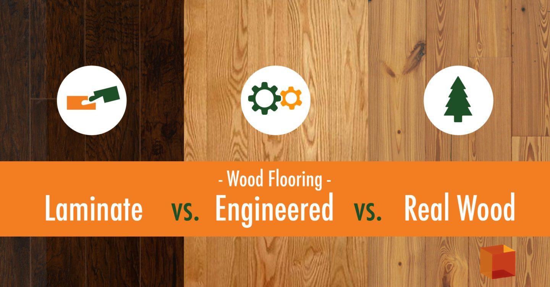 Wood Flooring: Laminate vs Engineered vs Real Wood & Wood Flooring: Laminate vs Engineered vs Real Wood - kitchen \u0026 bath ...