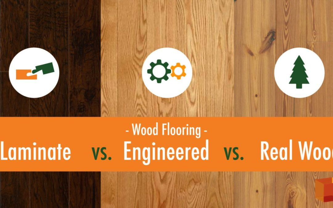 Wood Flooring: Laminate vs Engineered vs Real Wood