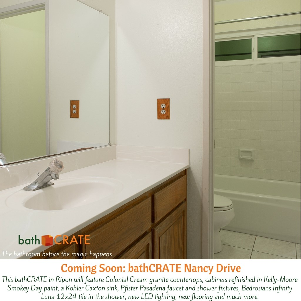 bathroom renovation on Nancy Drive.