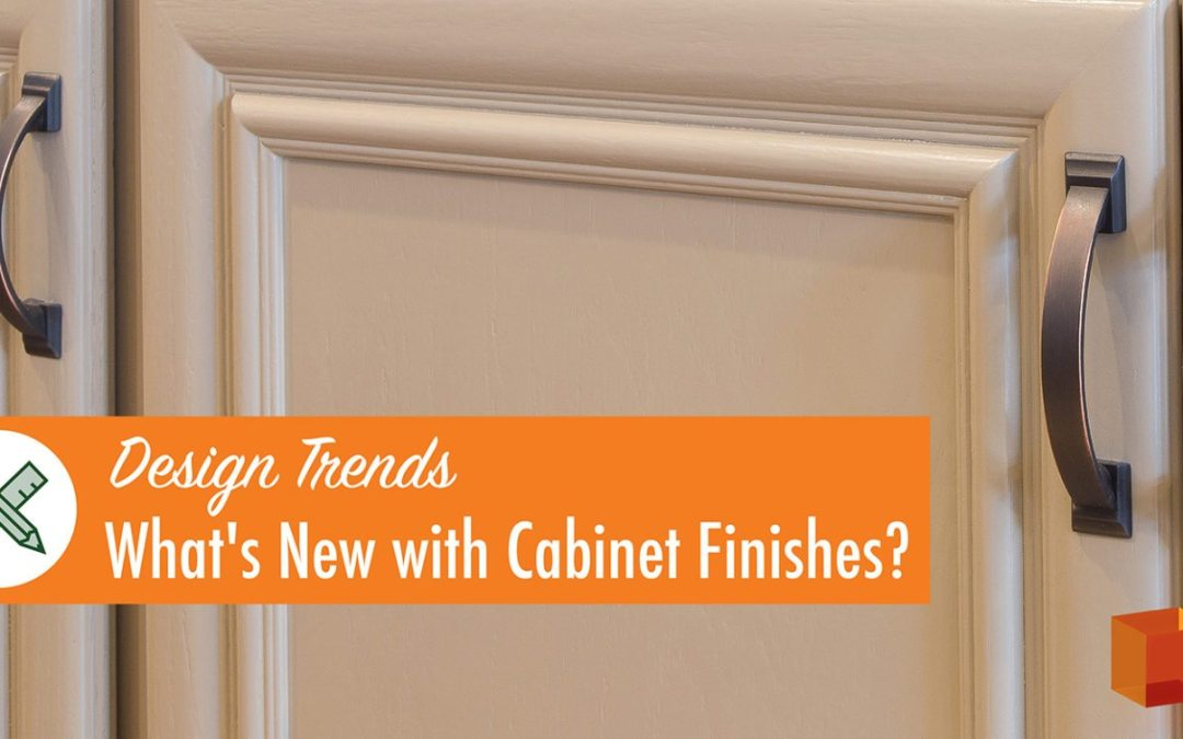 What's New with Cabinet Finishes?