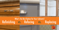 Refinishing vs. Refacing vs. Replacing: What's the Best ...