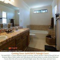 Turlock Bathroom Remodel - bathCRATE Raleigh Court Begins