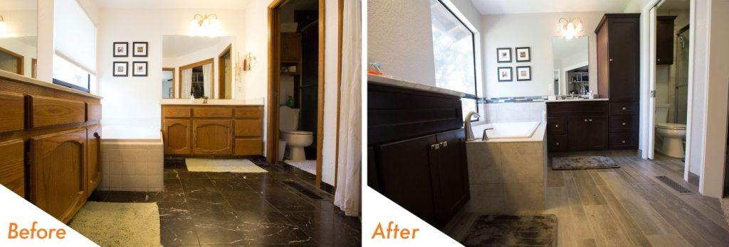 bathroom renovation in Modesto, CA