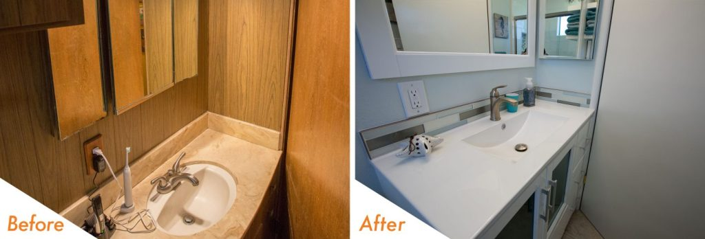 bathroom remodel, Ceres
