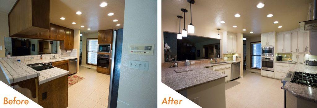 kitchen remodel complete!