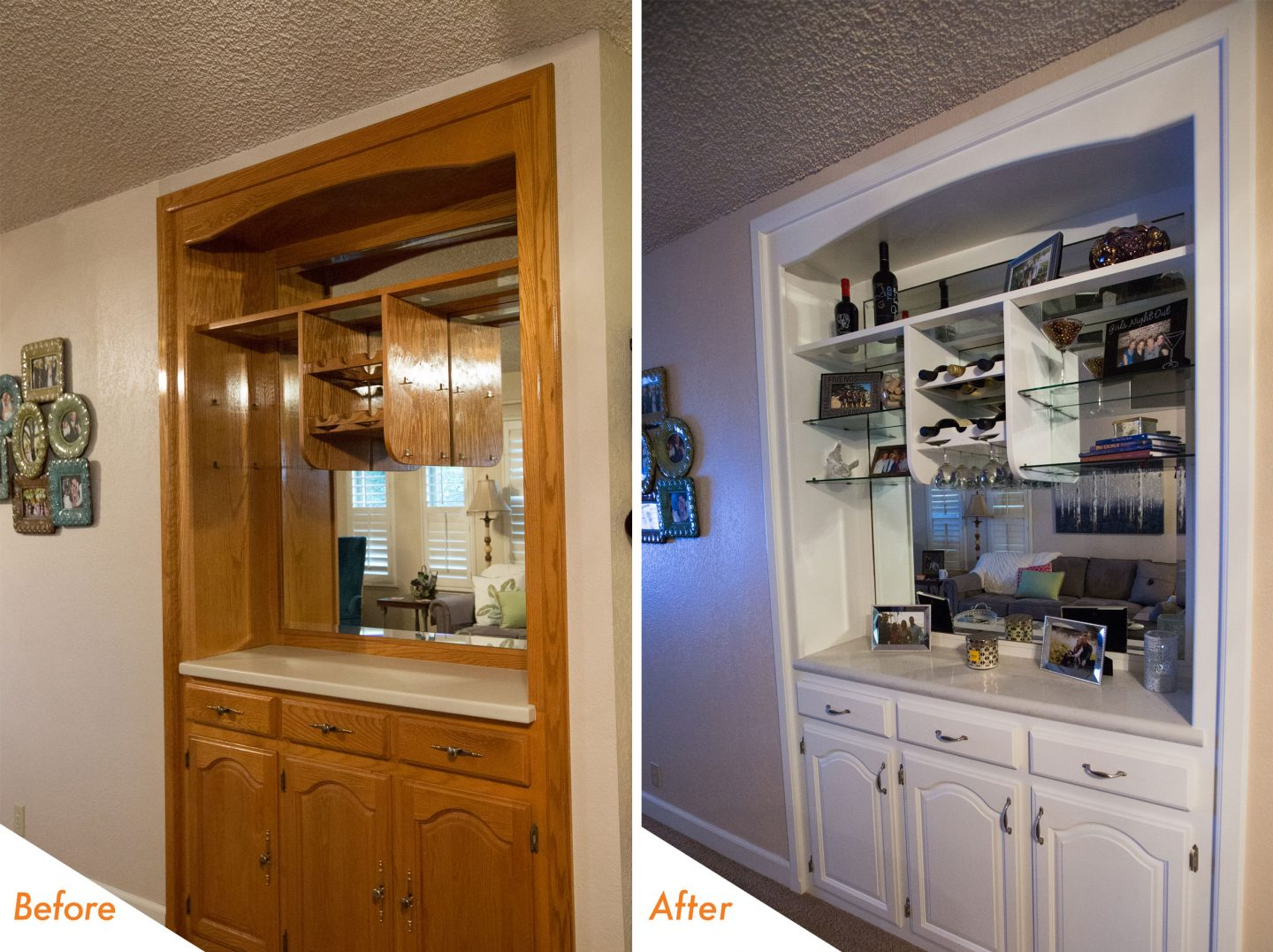 Kitchen Transformation Before And After: Kitchen Transformation In Modesto