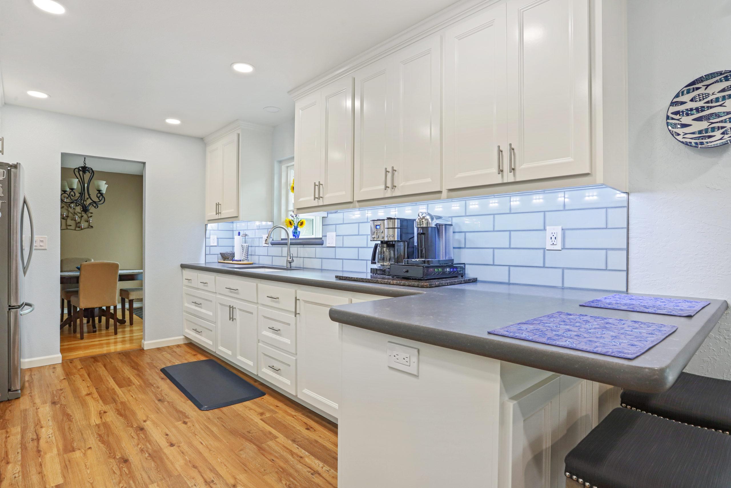 custom kitchen remodel in livermore
