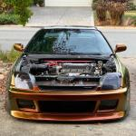 Honda Prelude 1997 2001 Brave Style 1 Piece Polyurethane Front Bumper