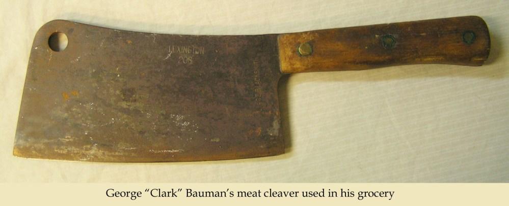 Bauman cleaver (2/4)