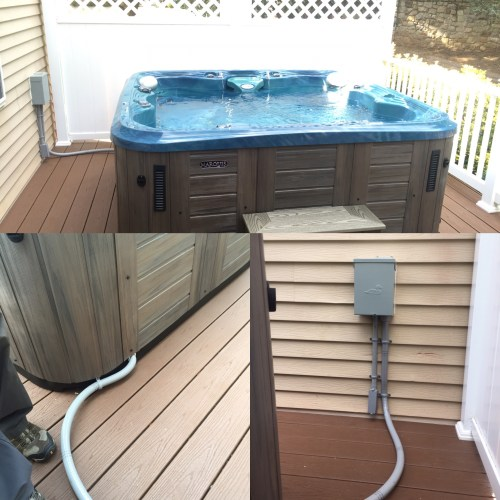 small resolution of hot tub wiring