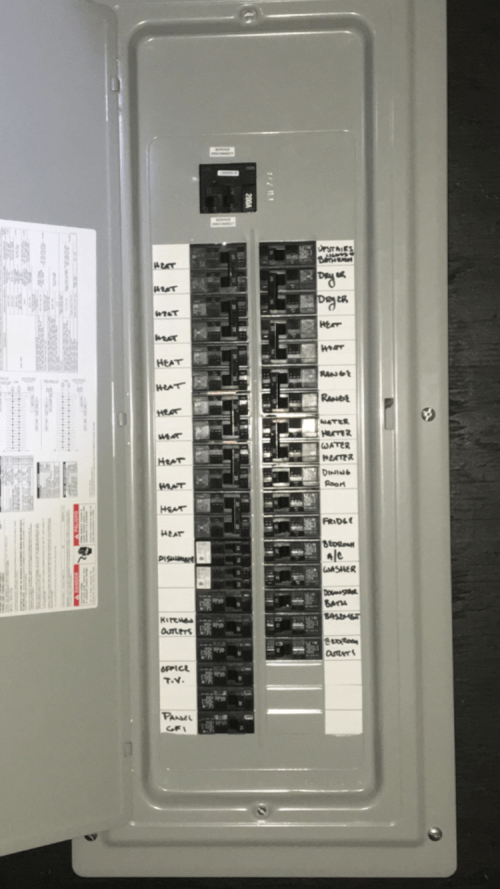 small resolution of labeling your electrical panel