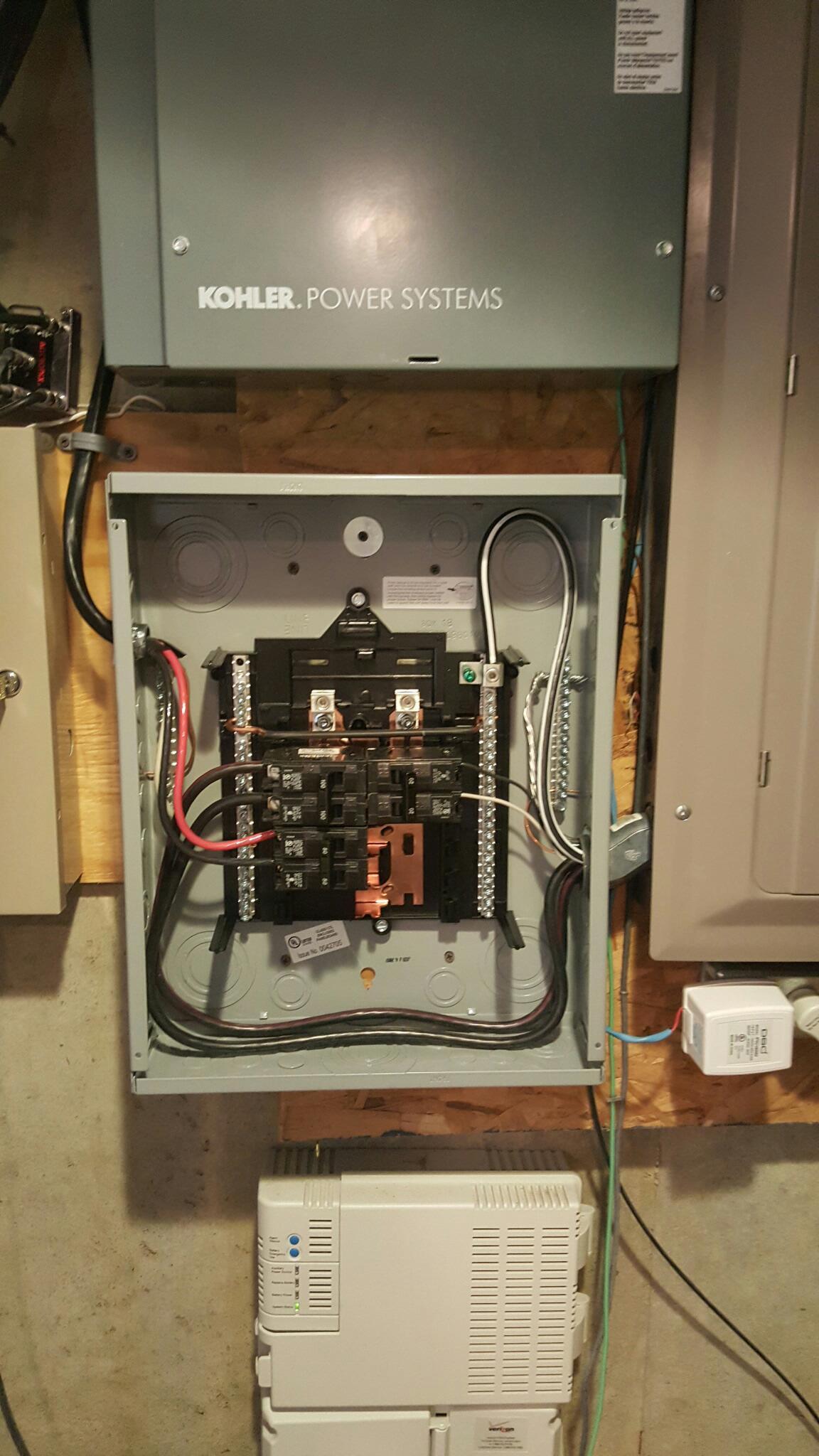 Sub Panel Wiring Panel1 Jpg
