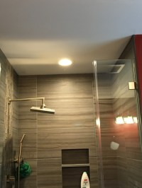 Recessed Lighting In Shower