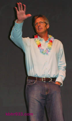 """Speaker Tyler Durman told the crowd at the PAC, """"I feel a part of your Ohana."""""""